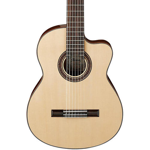 Ibanez G207CWCNT Solid Top Classical Acoustic 7-String Guitar thumbnail