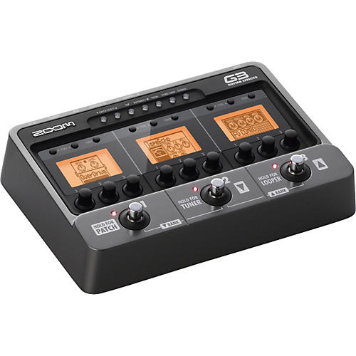 Zoom G3 Guitar Multi-Effects Pedal and Looper thumbnail