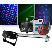 VEI G300RGB Laser with CHAUVET DJ JAM Pack Diamond Lighting Package