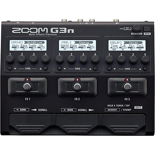 Zoom G3n Guitar Multi-Effects Processor thumbnail
