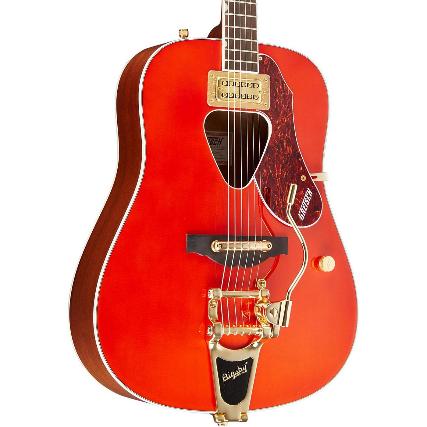 Gretsch Guitars G5034TFT Rancher Dreadnought Acoustic Guitar thumbnail