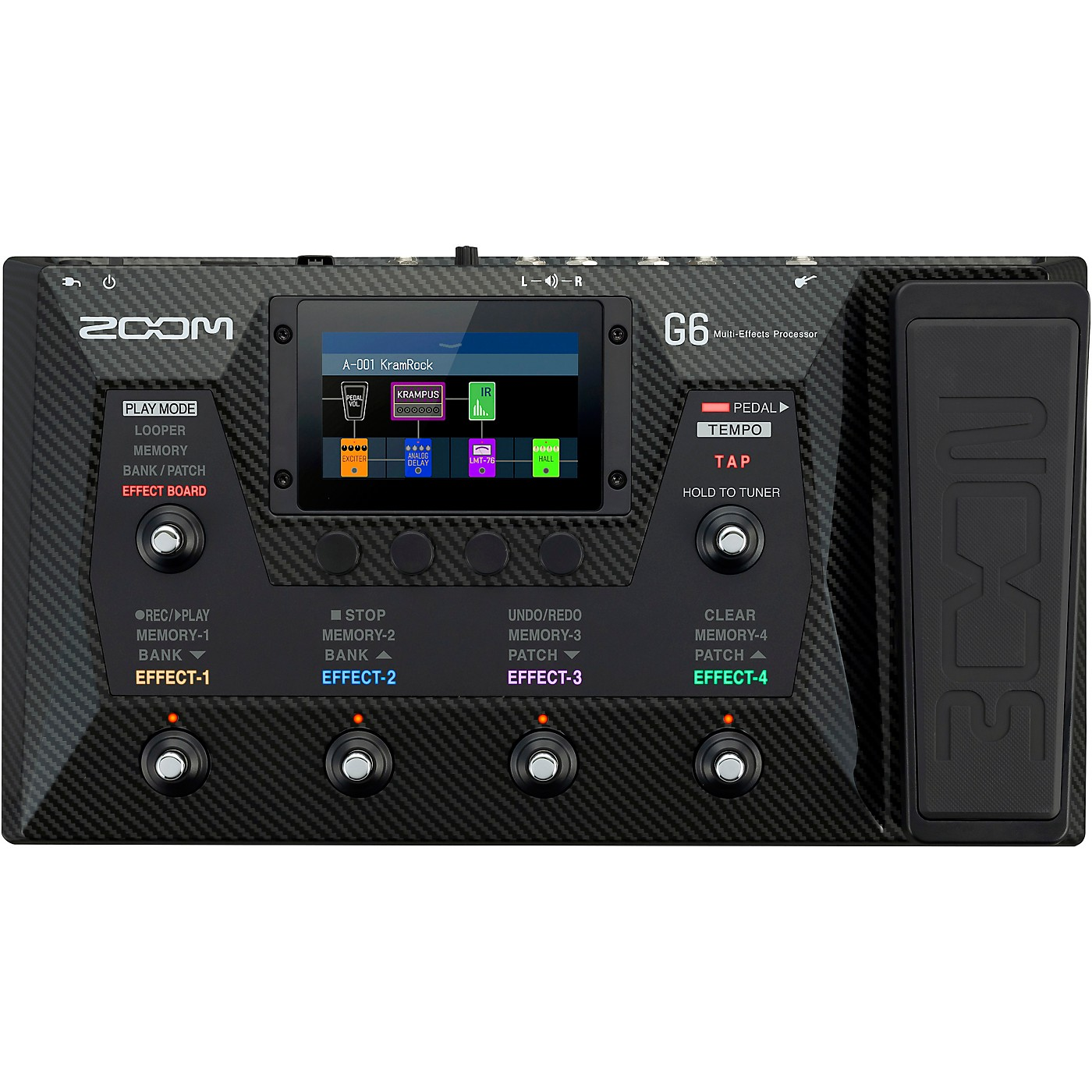 Zoom G6 Multi-Effects Processor thumbnail
