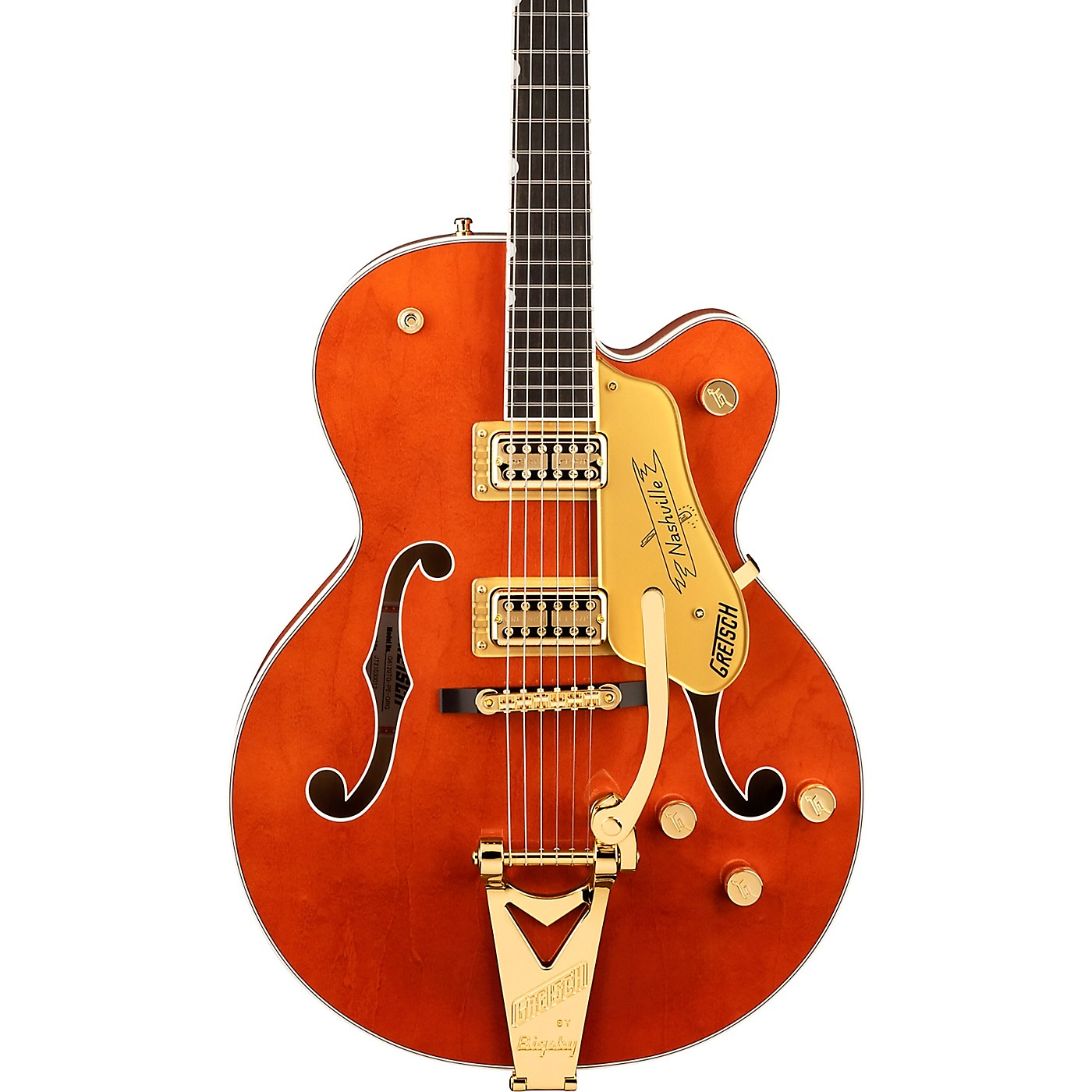 Gretsch Guitars G6120TG Players Edition Nashville Hollow Body Electric Guitar thumbnail