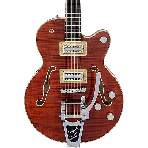 Gretsch Guitars G6659TFM Players Edition Broadkaster Jr. Center Block Bigsby Semi-Hollow Electric Guitar thumbnail