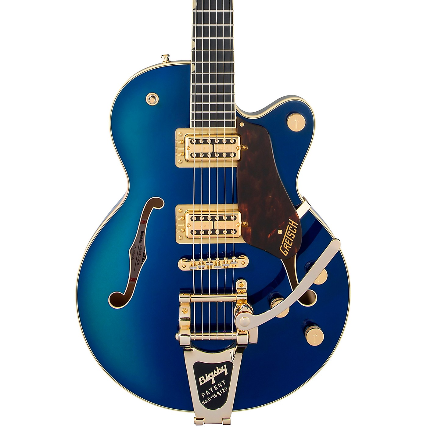 Gretsch Guitars G6659TG Players Edition Broadkaster Jr. Center Block Bigsby Semi-Hollow Electric Guitar thumbnail
