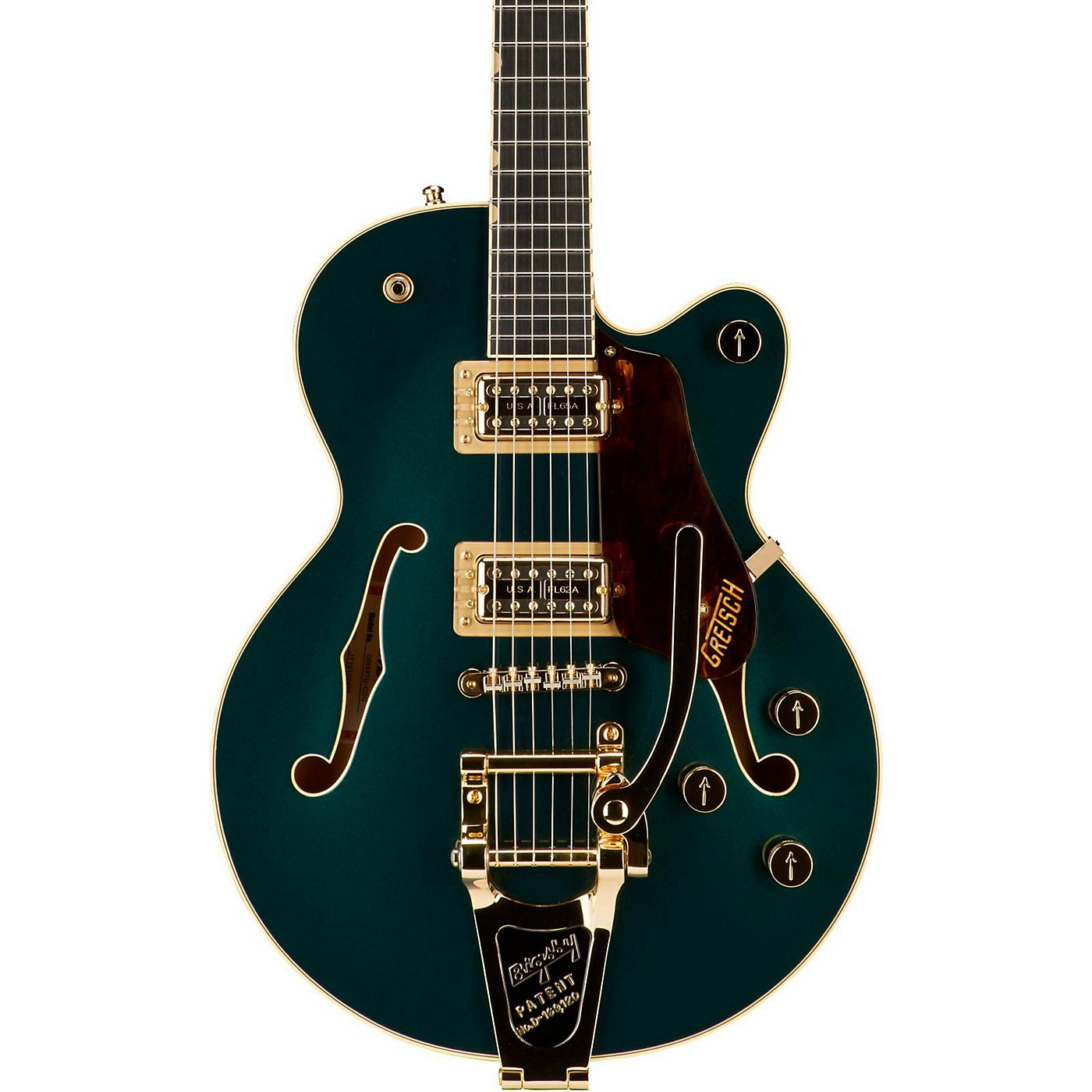 Gretsch Guitars G6659TG Players Edition Broadkaster Jr. Center Block Single-Cut with String-Thru Bigsby and Gold Hardware thumbnail