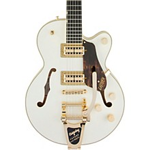 Gretsch Guitars G6659TG Players Edition Broadkaster Jr. Center Block  with String-Thru Bigsby Semi-Hollow Electric Guitar