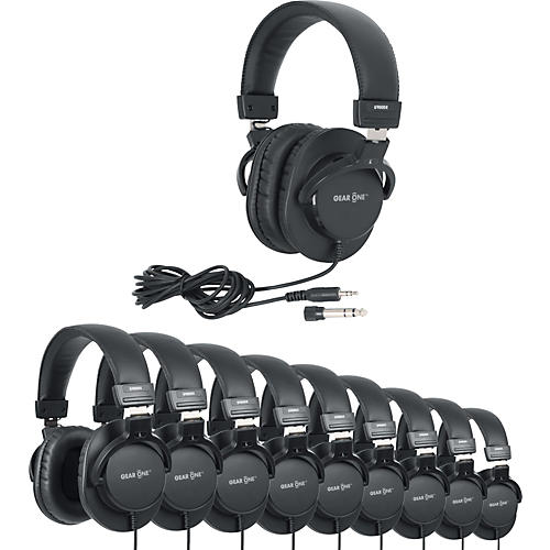 Gear One G900DX Headphone 10 Pack-thumbnail