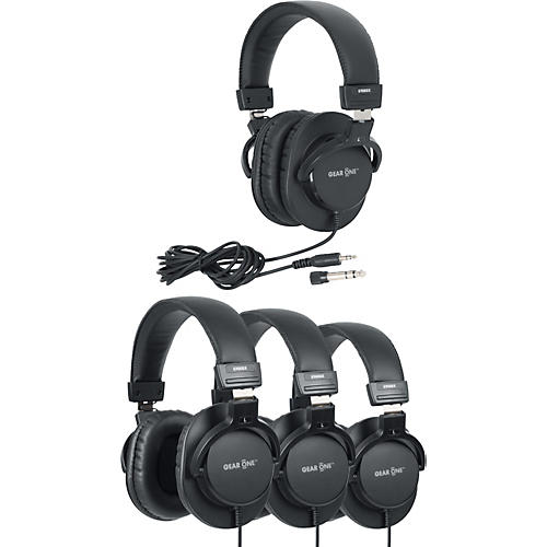 Gear One G900DX Headphone 4 Pack thumbnail