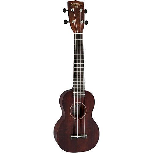 Gretsch Guitars G9100-L Soprano Long-Neck Ukulele Ovangkol Fingerboard thumbnail