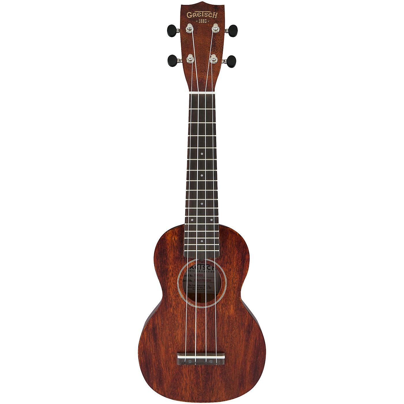 Gretsch Guitars G9100 Soprano Standard Ukulele with Ovangkol Fingerboard thumbnail