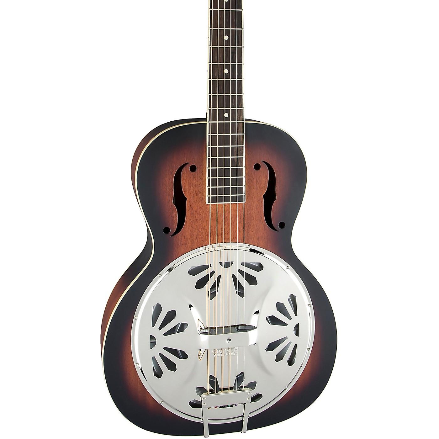 Gretsch Guitars G9220 Bobtail Round-Neck Resonator Guitar, Spider Cone thumbnail