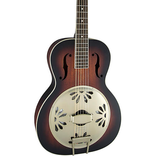 Gretsch Guitars G9240 Alligator Round-Neck, Mahogany Body Biscuit Cone Resonator Guitar thumbnail