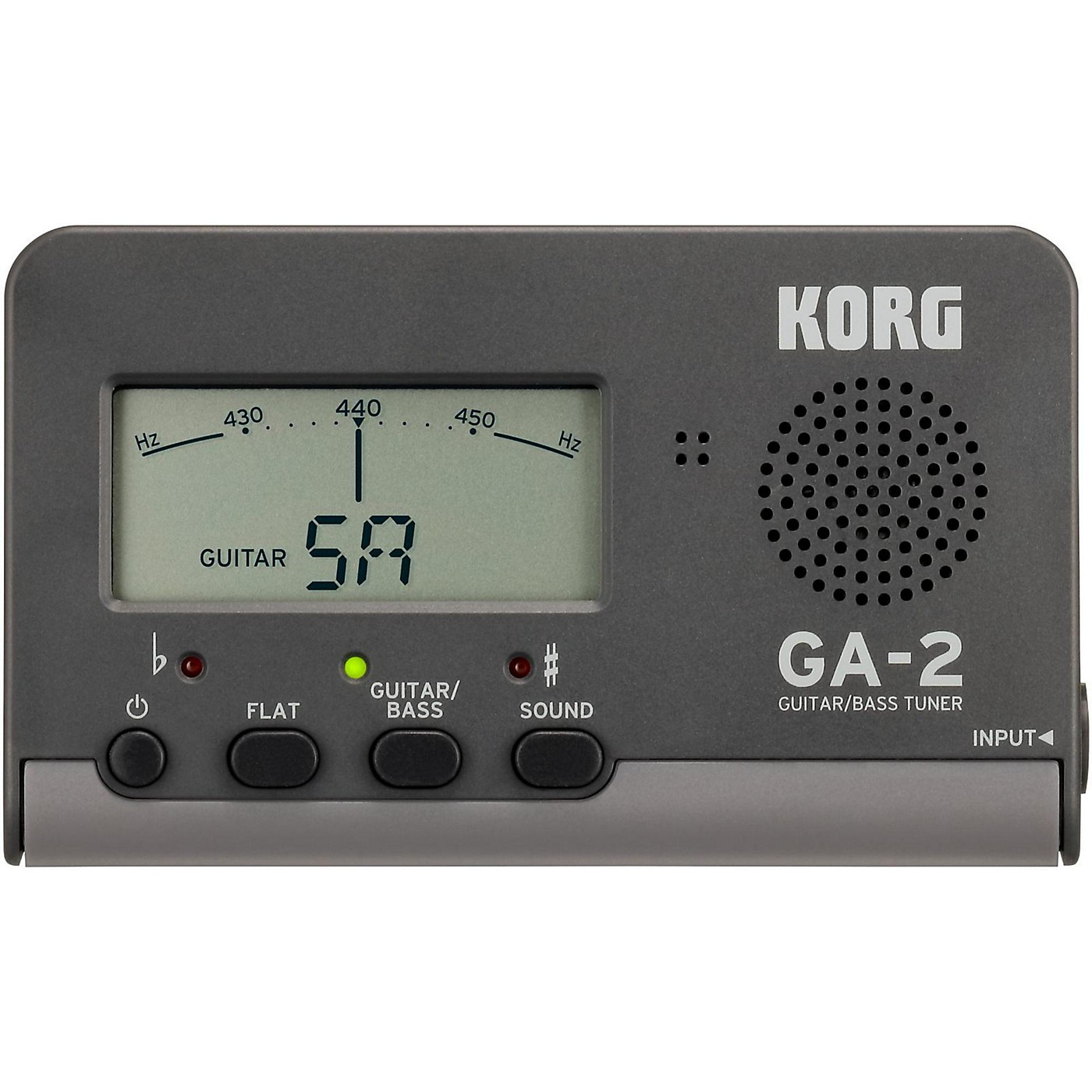 Korg GA-2 Handheld Guitar and Bass Tuner thumbnail