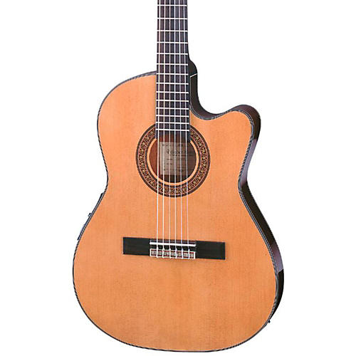Ibanez GA Series GA5TCE Thinline Classical Acoustic-Electric Guitar thumbnail