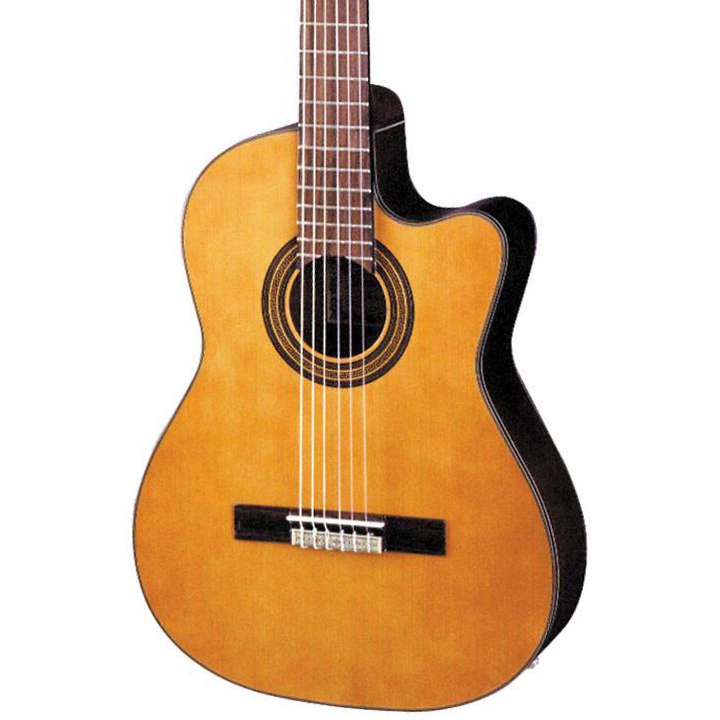 Ibanez GA Series GA6CE Classical Cutaway Acoustic-Electric Guitar thumbnail