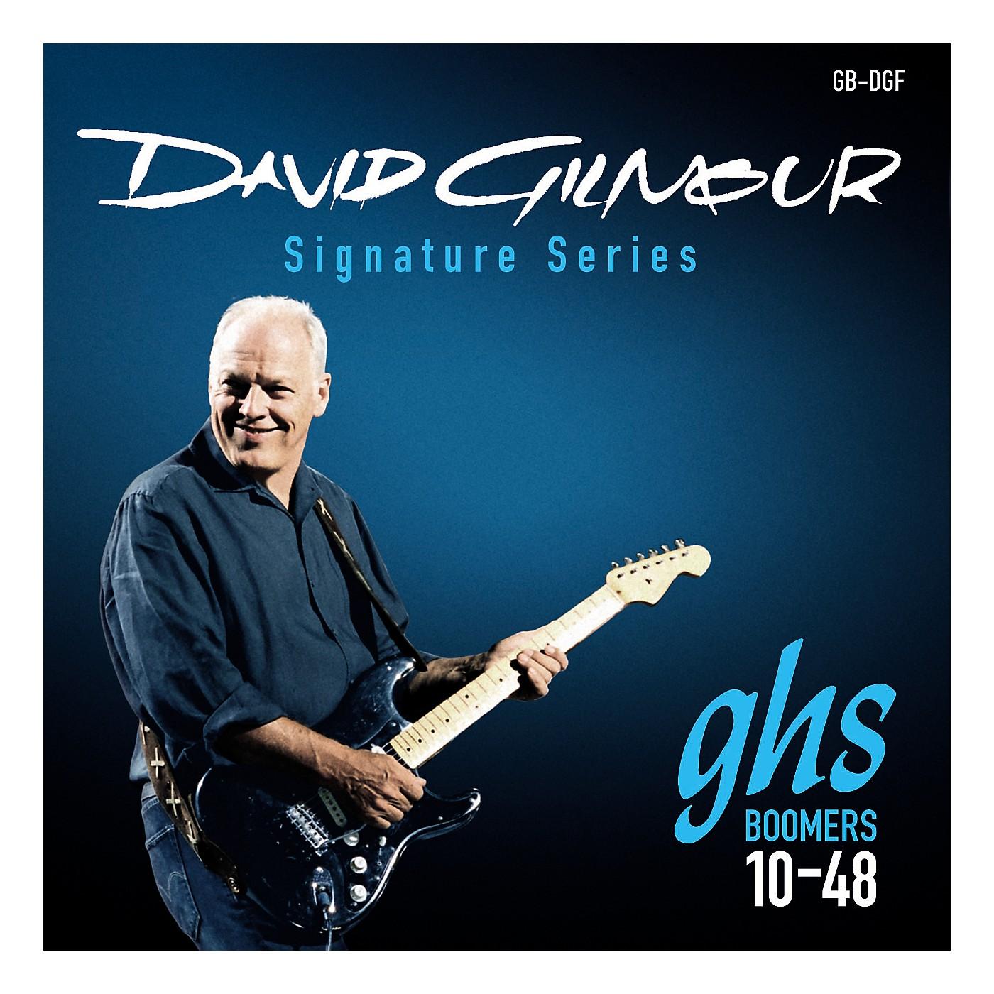 GHS GB-DGF David Gilmour Signature Blue Set Electric Guitar Strings thumbnail