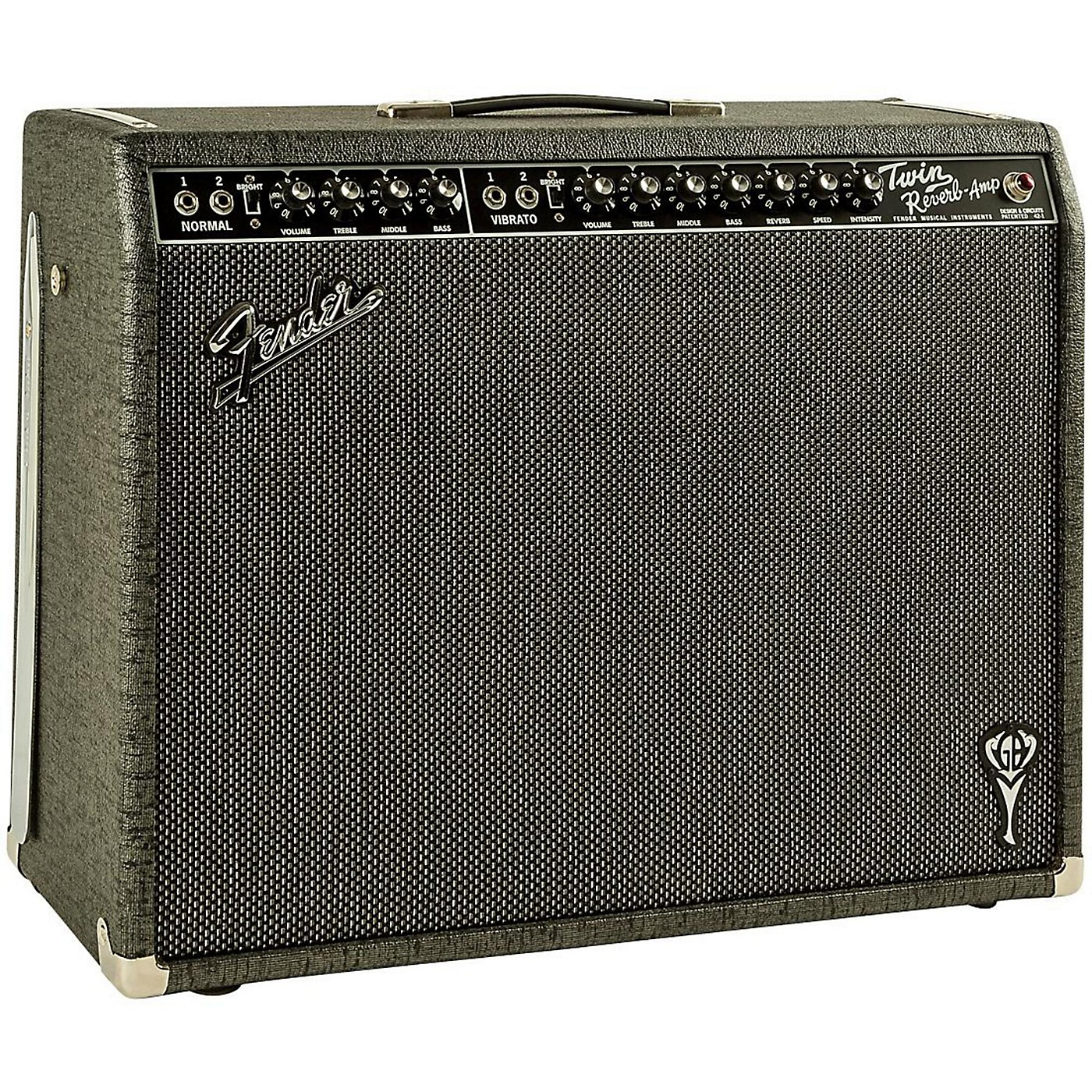 Fender GB George Benson Twin Reverb 2x12 Guitar Combo Amp thumbnail