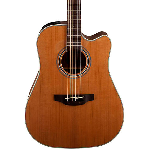 Takamine GD20CE-NS Dreadnought Cutaway Acoustic-Electric Guitar thumbnail