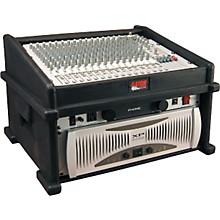 Gator GDJ-8X4 Slant Top DJ Mix Station Rack Case