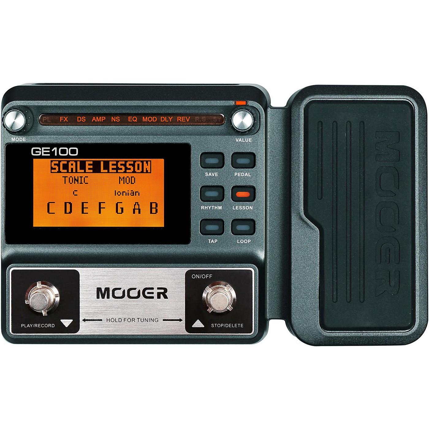 Mooer GE100 Guitar Multi-Effects Pedal thumbnail
