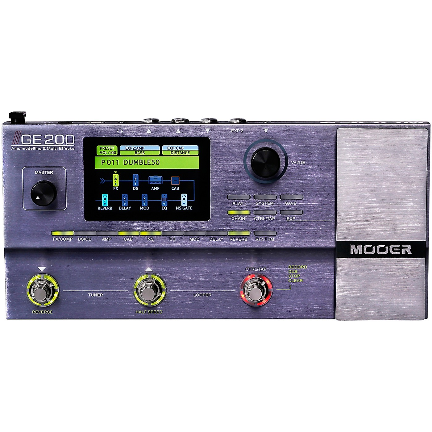 Mooer GE200 Multi-Effects Processor thumbnail
