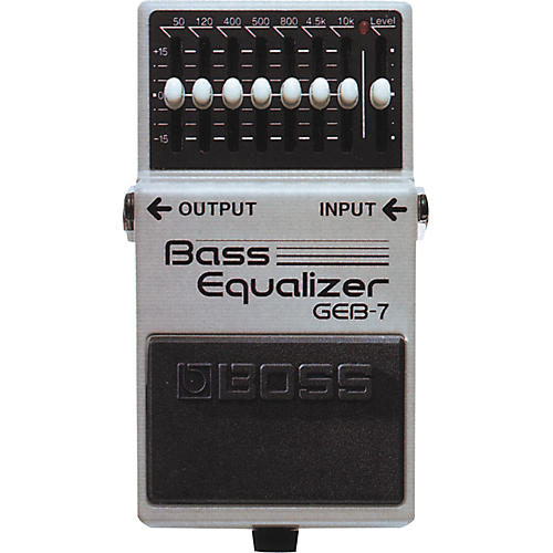 Boss GEB-7 Bass Equalizer Pedal thumbnail