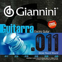 Giannini GEEGST Nickel Round Wound Electric Guitar Strings