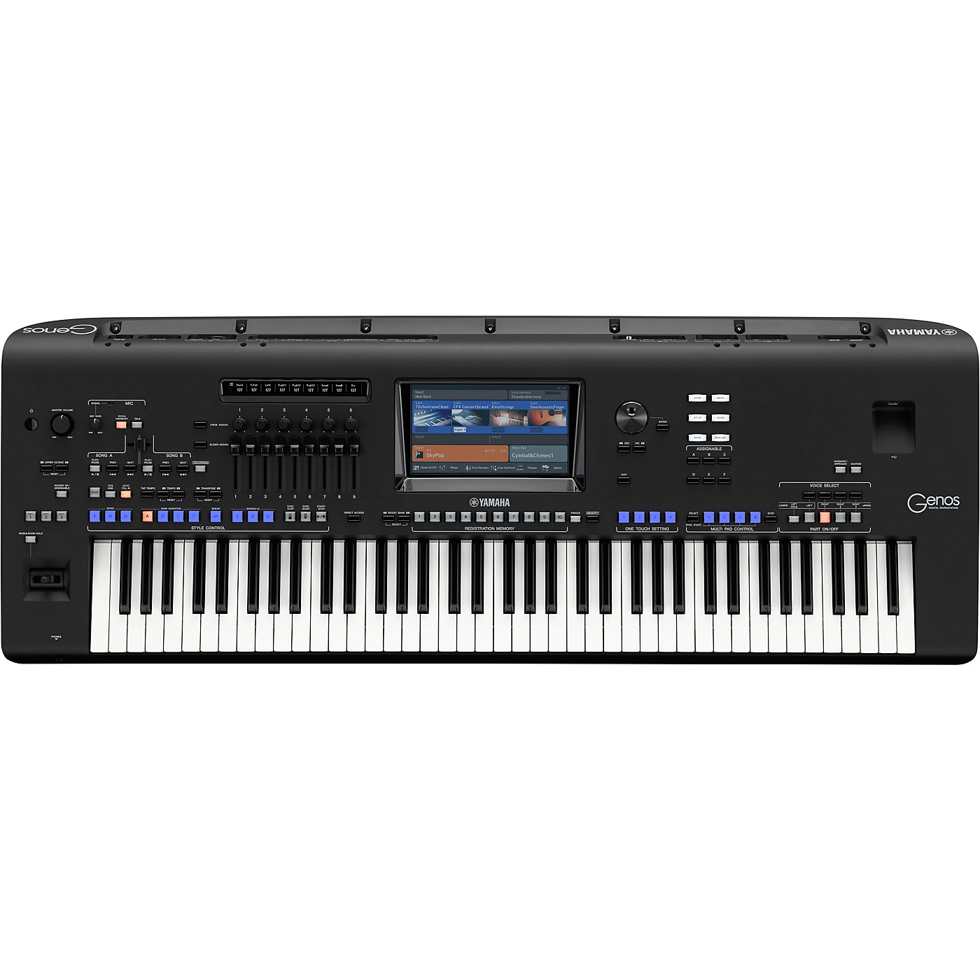 Yamaha GENOS 76-key Flagship Arranger Workstation thumbnail