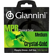 Giannini GENWG Classical Guitar Medium Tension Phosphor Bronze Clear Nylon Ball End Strings