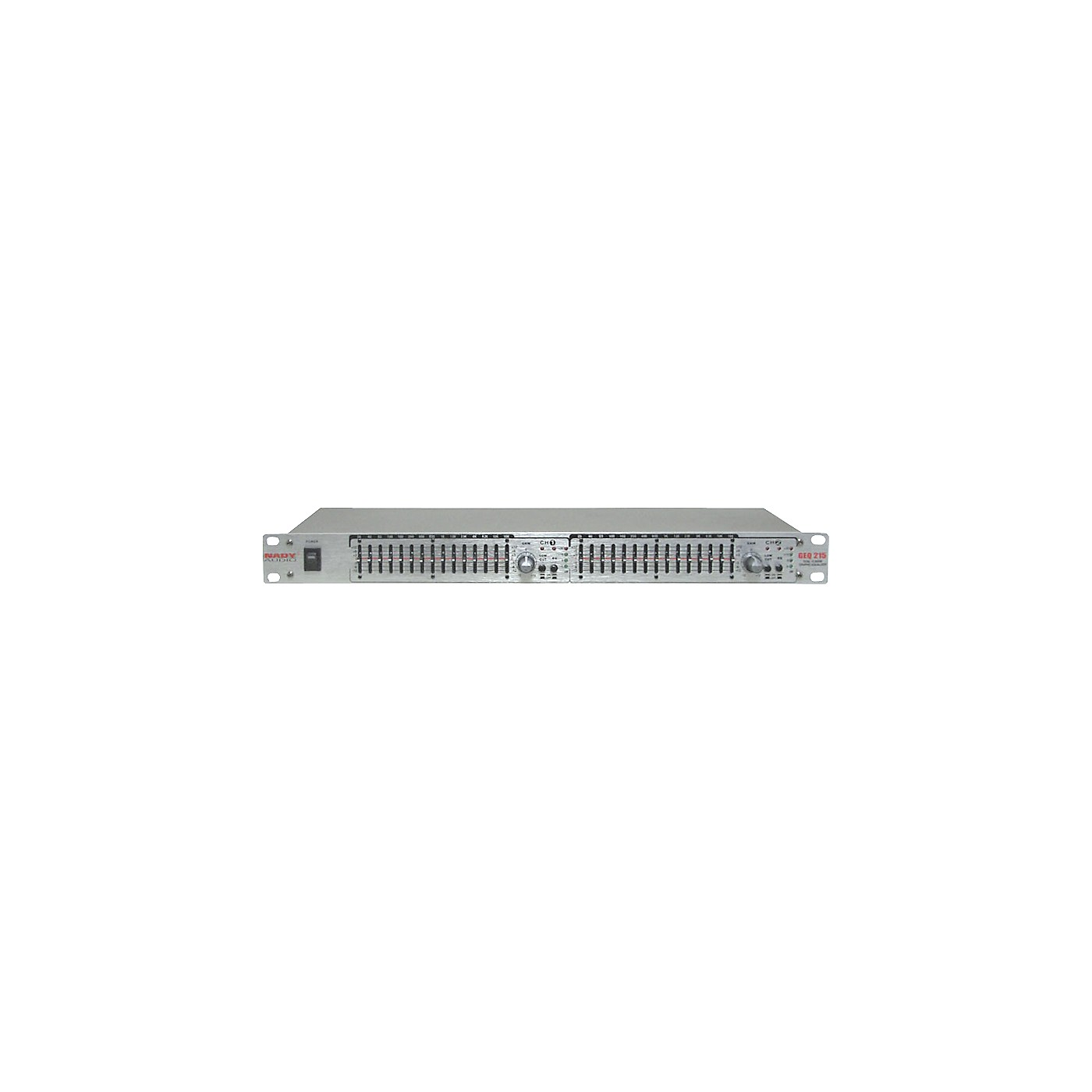 Nady GEQ-215 2-Channel 15-Band Graphic Equalizer thumbnail