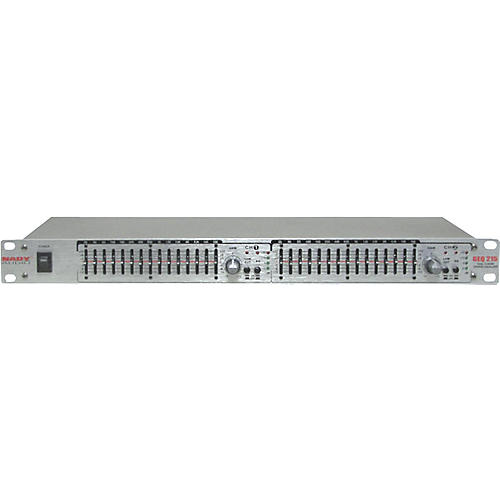Nady GEQ-215 2-Channel 15-Band Graphic Equalizer-thumbnail