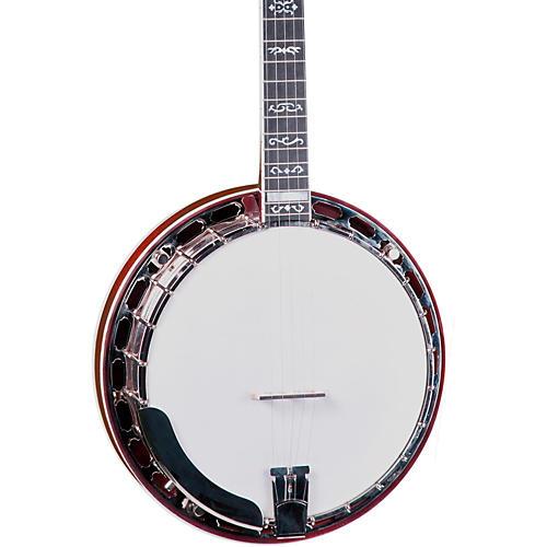 Gold Star GF-100W Mahogany Wreath 5-String Banjo-thumbnail