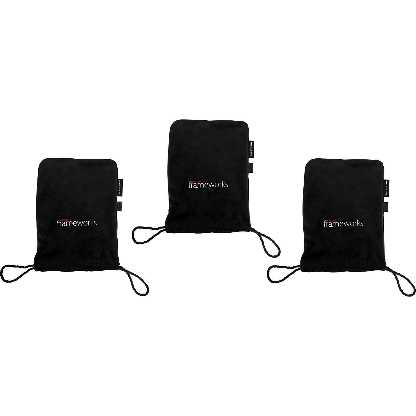 Gator GFW-MICPOUCH-3PK Soft Bag for Studio Mics 3-Pack thumbnail