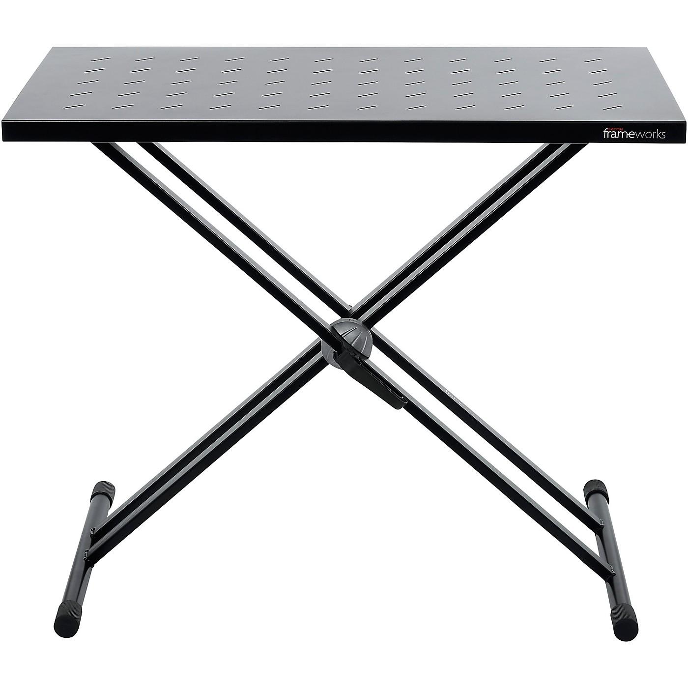 Gator GFW-UTL-XSTDTBLTOPSET Utility table top with double-X stand thumbnail