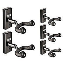 Proline GH1 Guitar Wall Hanger 5-Pack (Black Finish)