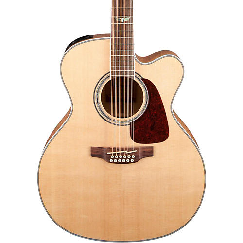 Takamine GJ72CE-12 G Series Jumbo Cutaway 12-String Acoustic-Electric Guitar thumbnail