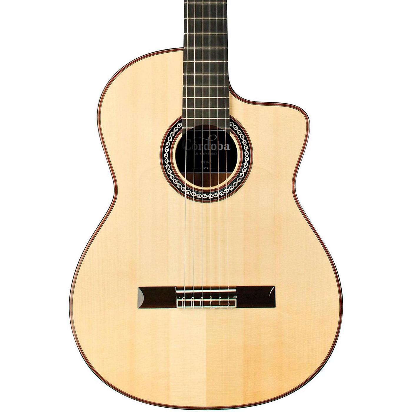 Cordoba GK Pro Nylon Flamenco Acoustic Electric Guitar thumbnail