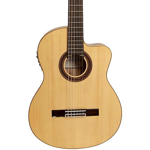 Cordoba GK Studio Negra Acoustic-Electric Nylon String Flamenco Guitar thumbnail