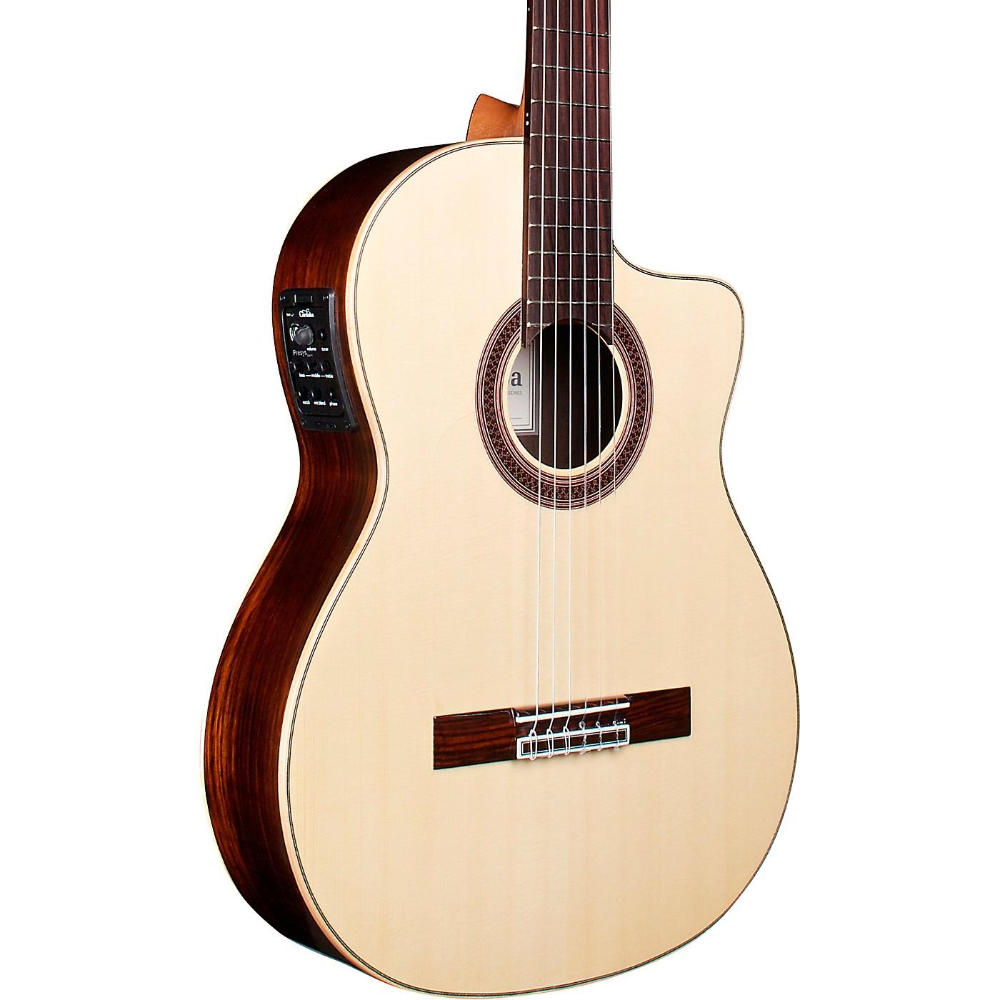 Cordoba GK Studio Negra Flamenco Acoustic-Electric Guitar thumbnail