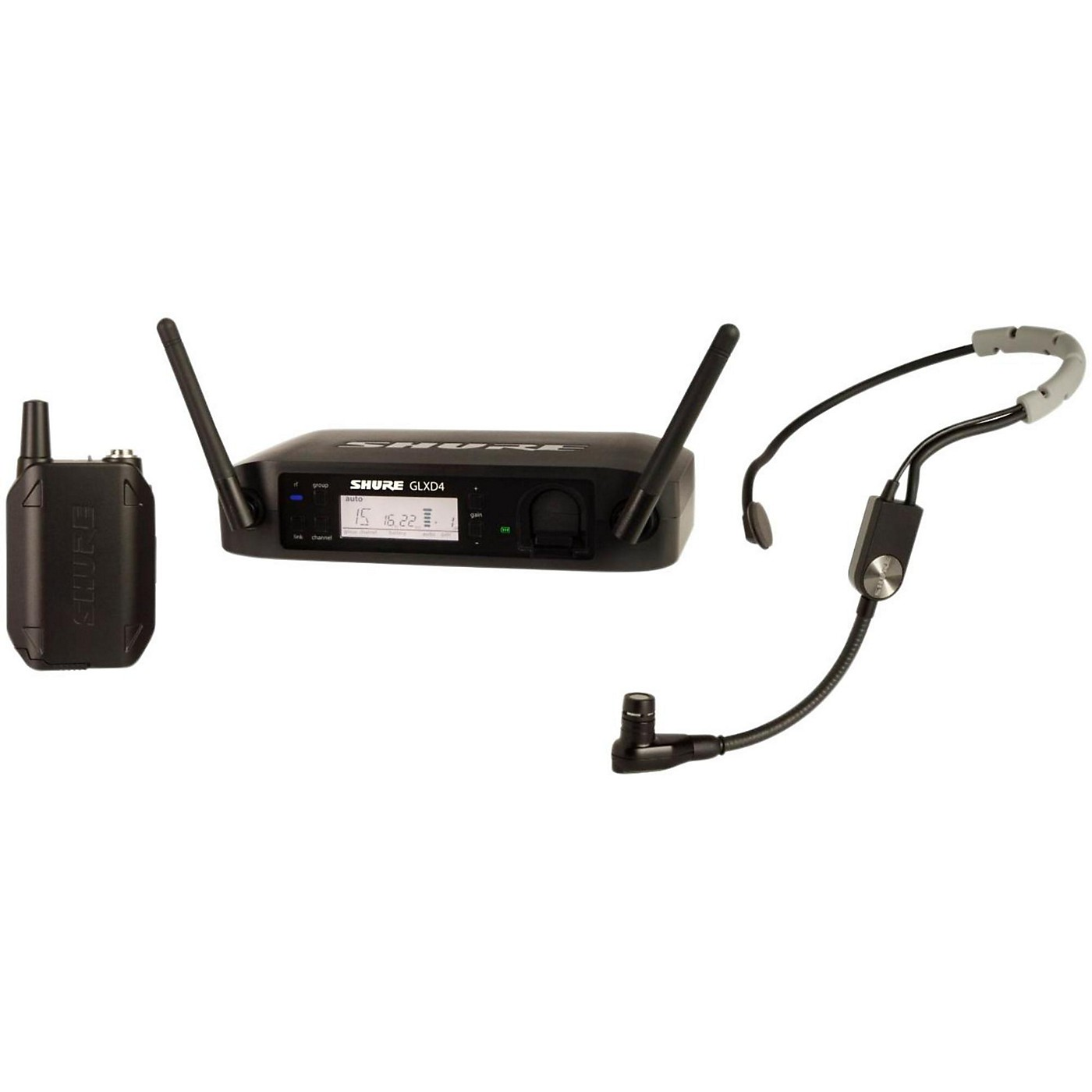 Shure GLX-D Digital Wireless Headset System with SM35 Headset Microphone thumbnail