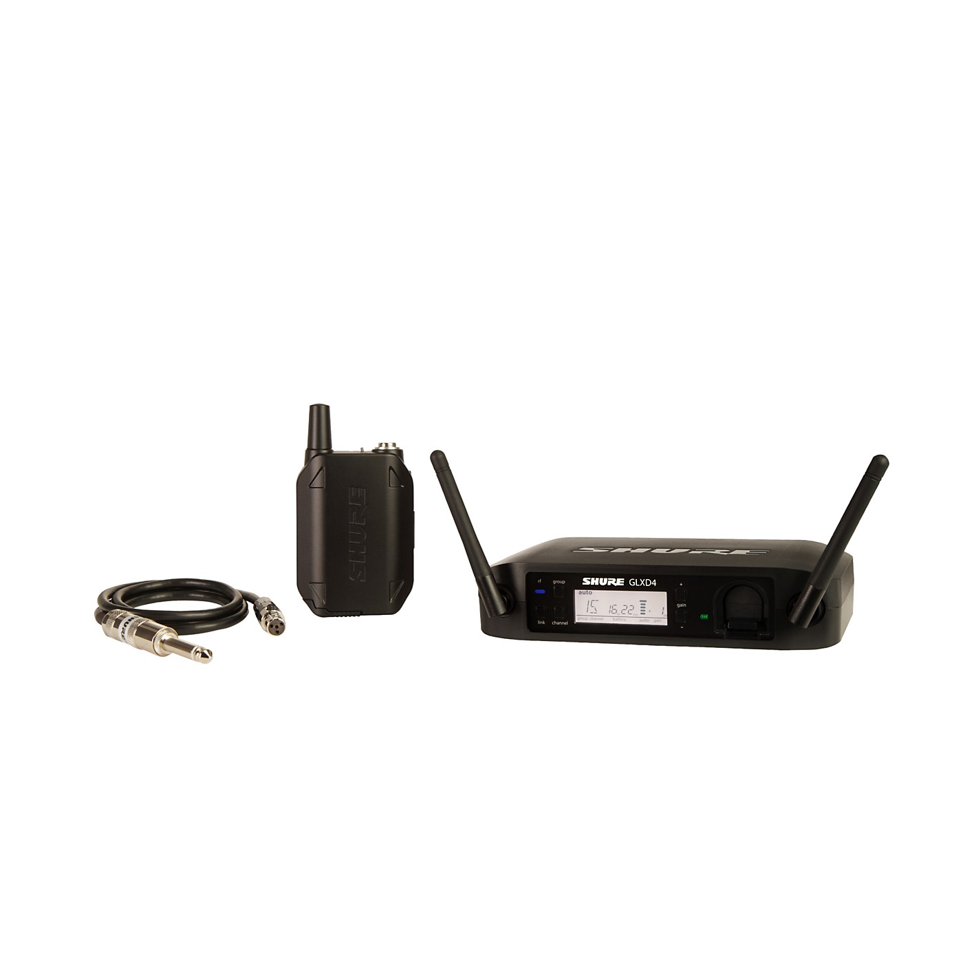 Shure GLX-D Guitar Wireless System with GLXD4 Wireless Receiver thumbnail