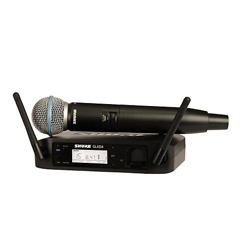 Shure GLX-D Wireless Vocal System with Beta 58 Mic thumbnail
