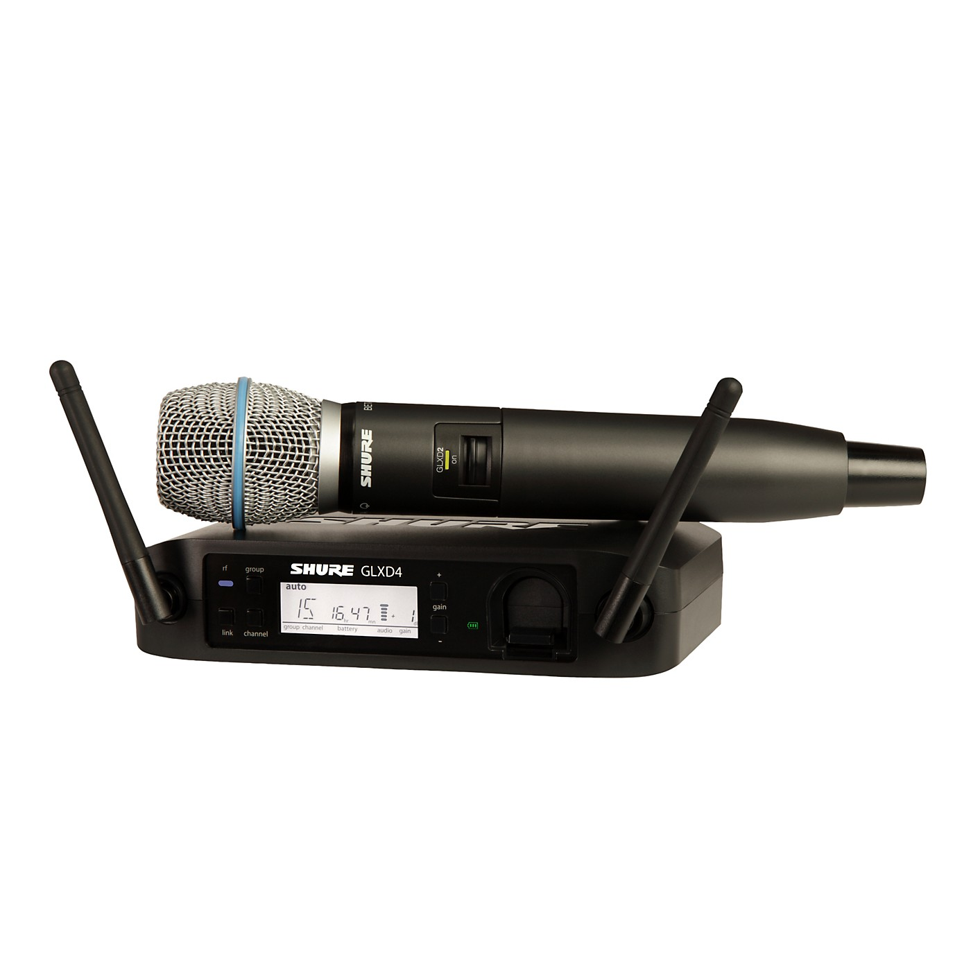 Shure GLX-D Wireless Vocal System with Beta 87A Mic thumbnail