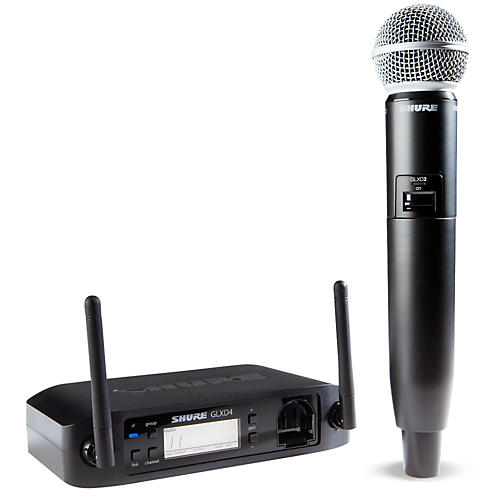 Shure GLX-D Wireless Vocal System with SM58 Mic thumbnail
