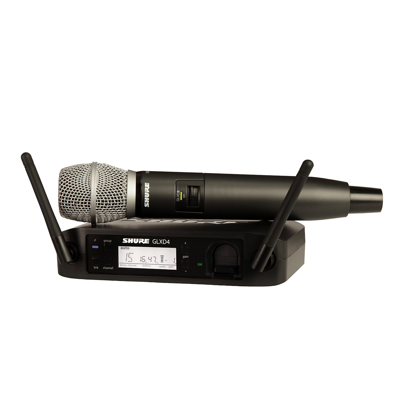 Shure GLX-D Wireless Vocal System with SM86 Mic thumbnail