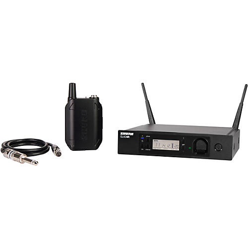 Shure GLXD14R Advanced Guitar Wireless System with GLXD4R Rackmountable Receiver thumbnail