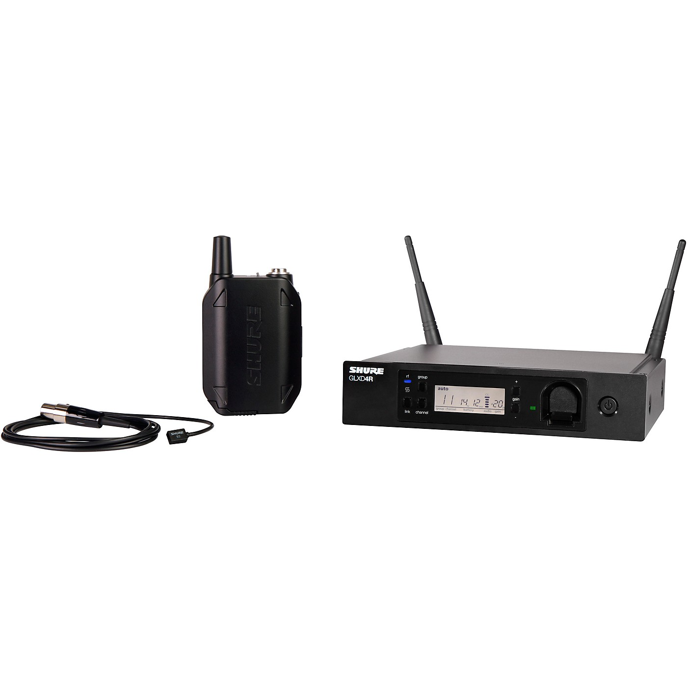 Shure GLXD14R Advanced Wireless System with WL93 Lavalier Microphone thumbnail