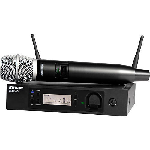 Shure GLXD24R/SM86 Advanced Wireless System with SM86 Microphone thumbnail