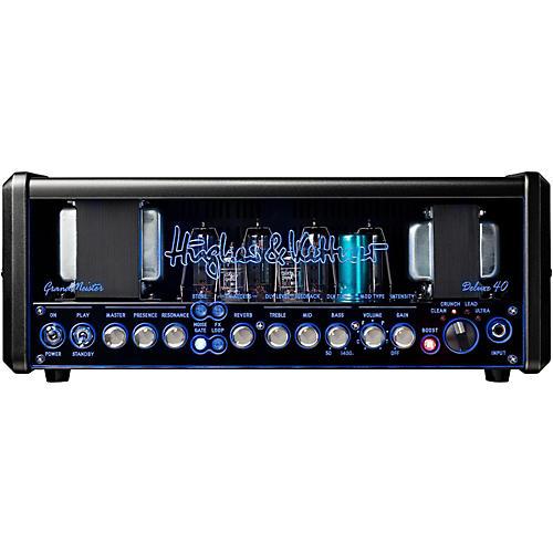Hughes & Kettner GM40DH GrandMeister Deluxe 40 40W Guitar Amplifier Head thumbnail